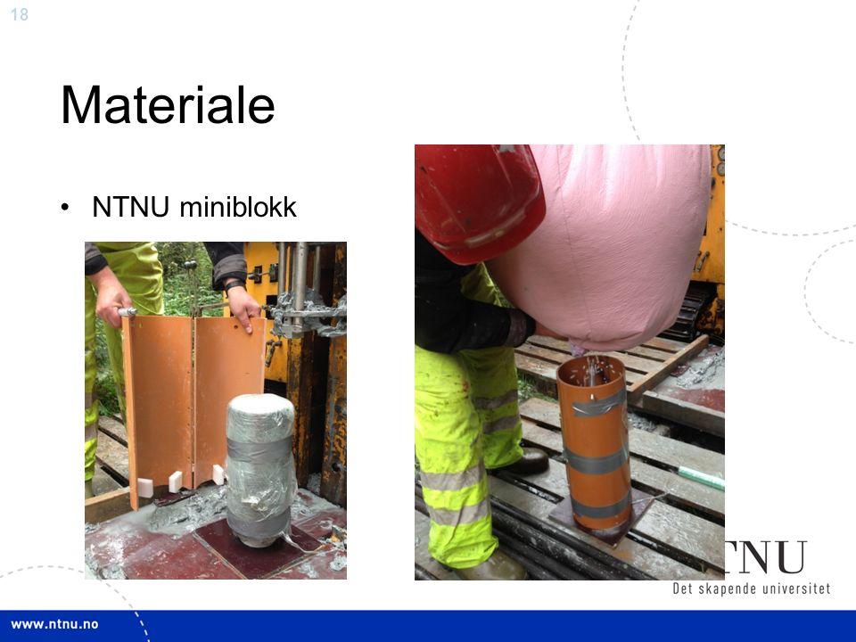 18 Materiale NTNU miniblokk