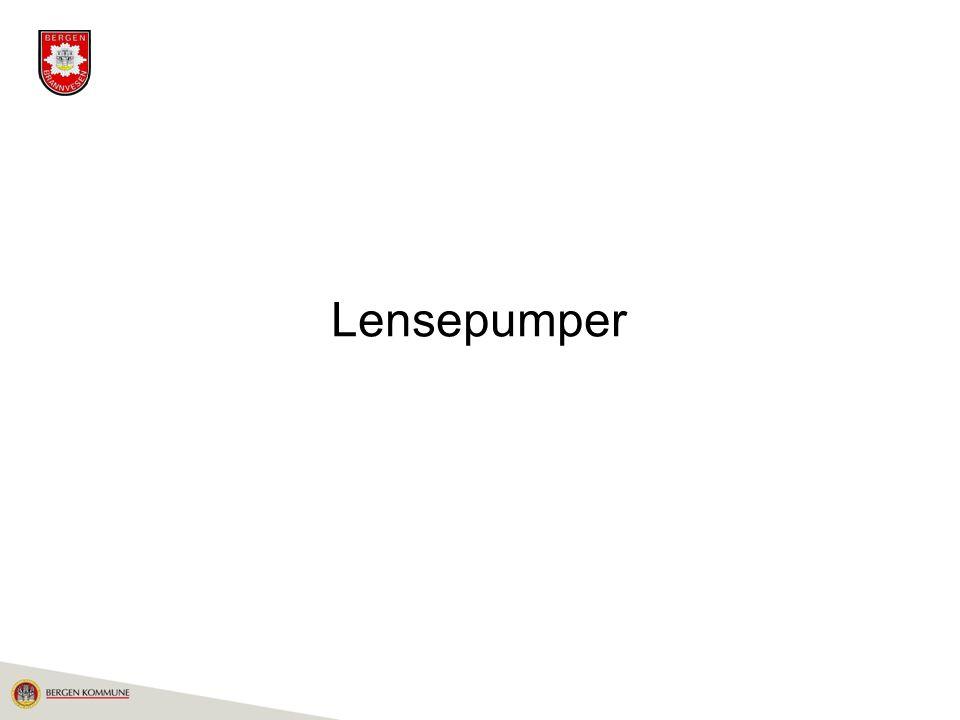 Lensepumper