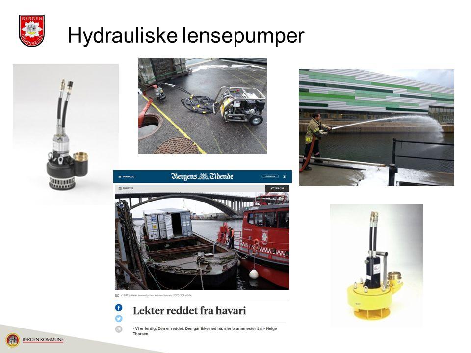 Hydrauliske lensepumper