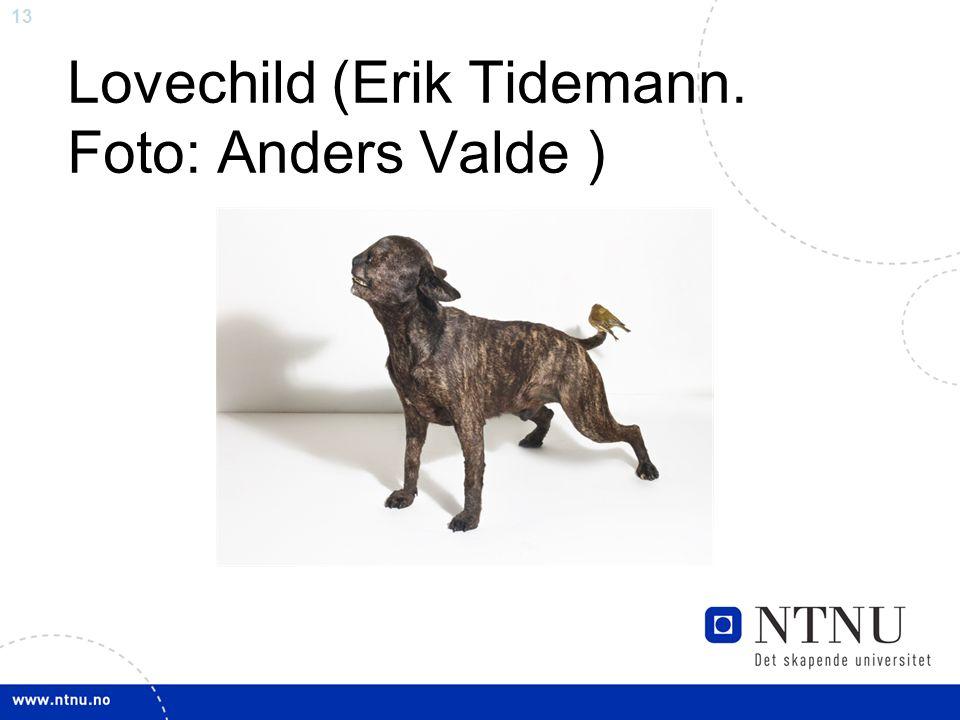 13 Lovechild (Erik Tidemann. Foto: Anders Valde )