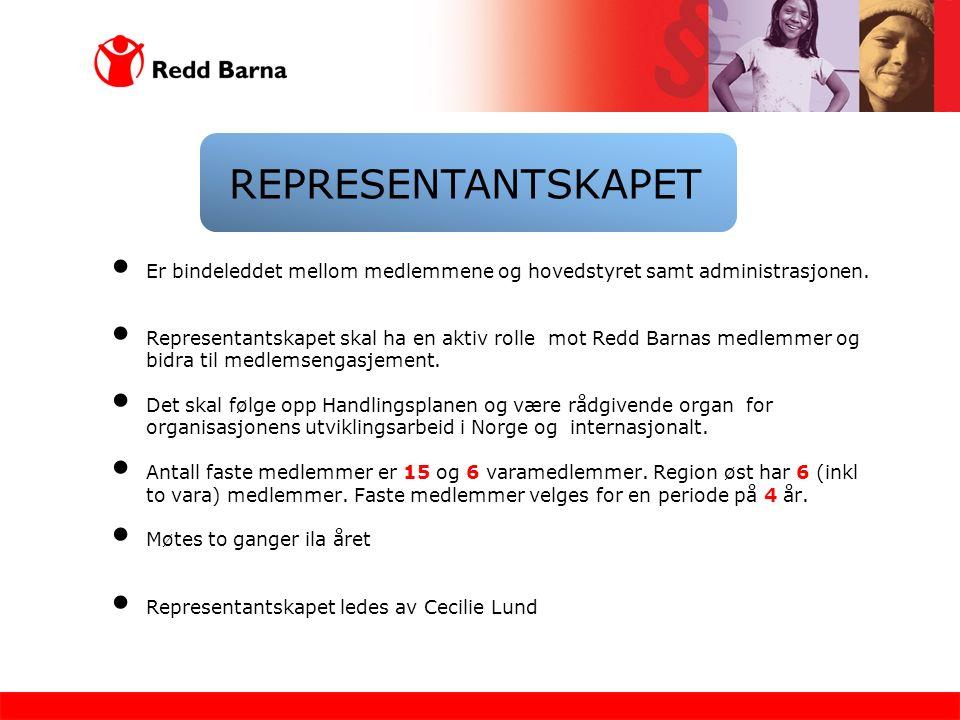 Er bindeleddet mellom medlemmene og hovedstyret samt administrasjonen.