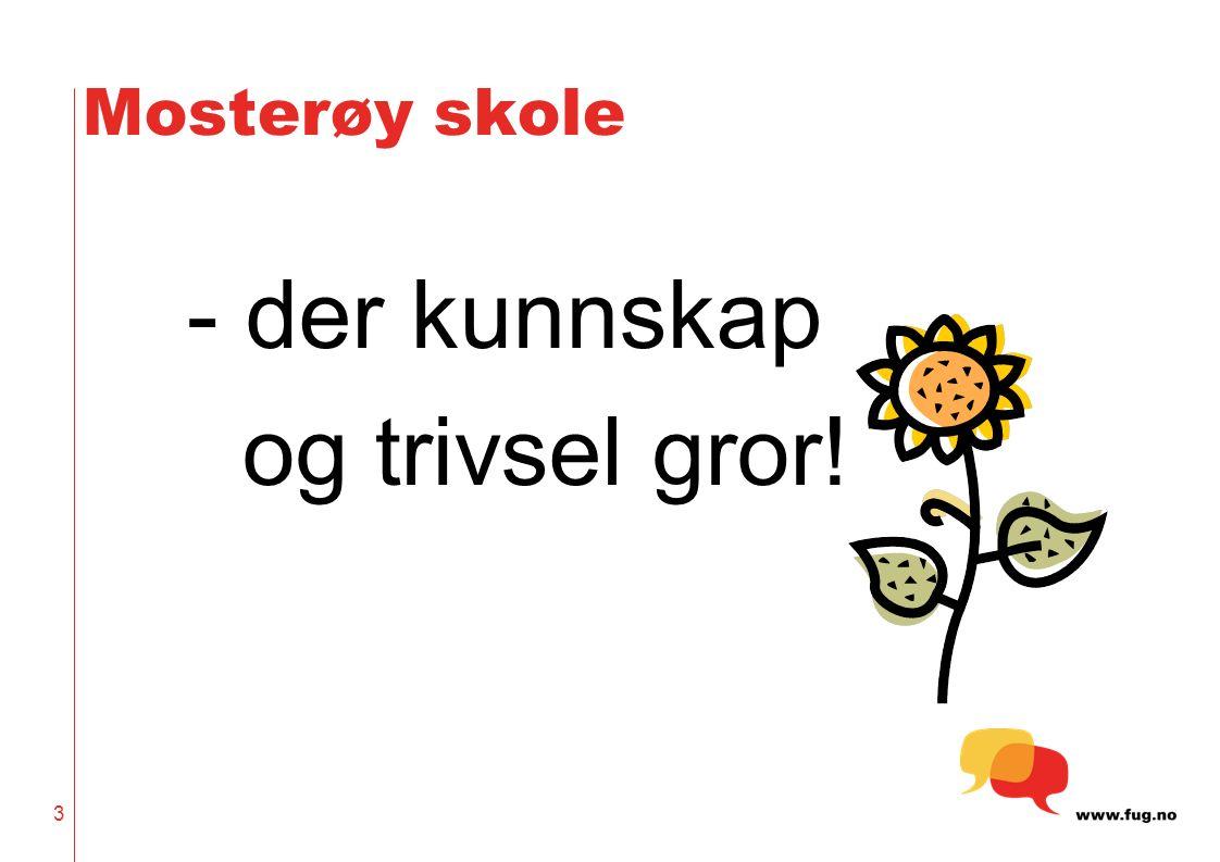 Mosterøy skole - der kunnskap og trivsel gror! 3
