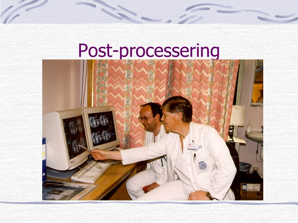 Post-processering