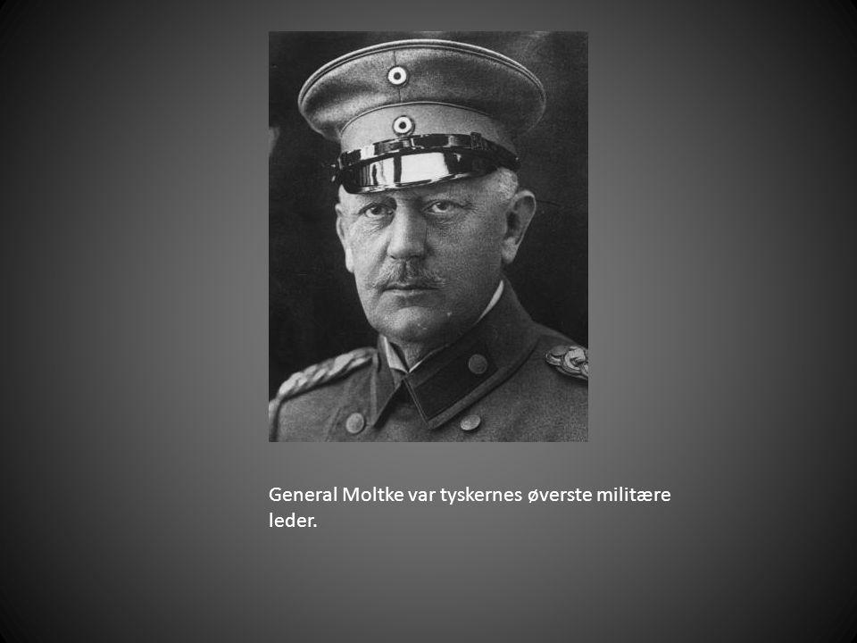 General Moltke var tyskernes øverste militære leder.