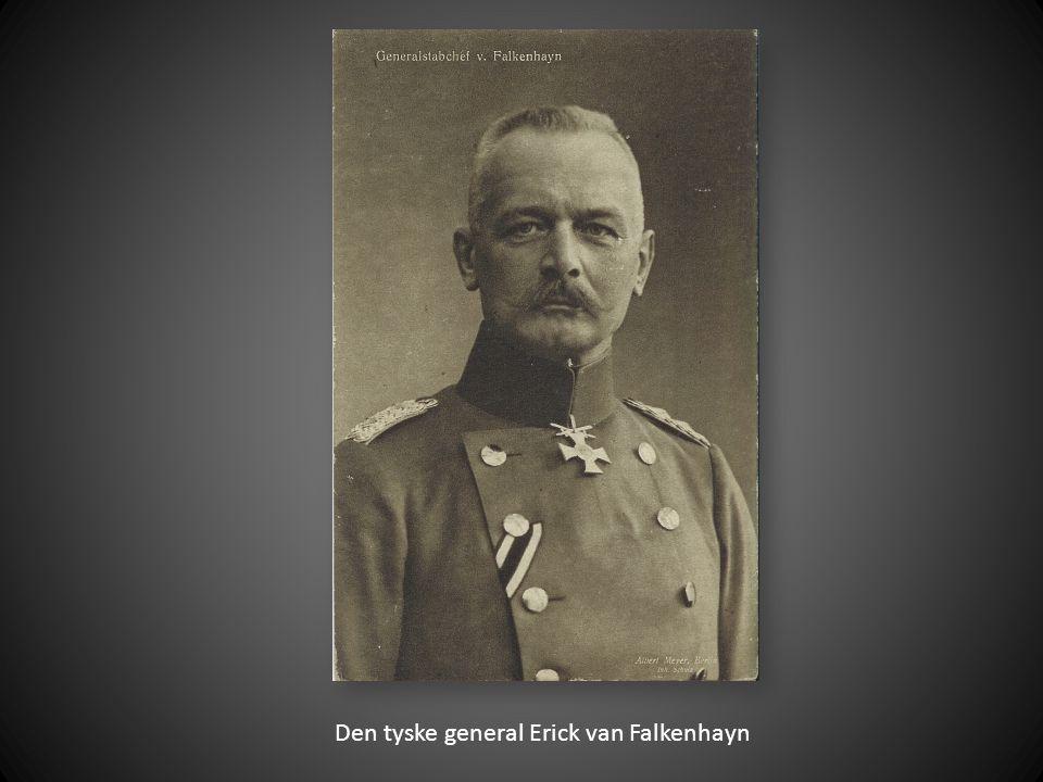 Den tyske general Erick van Falkenhayn