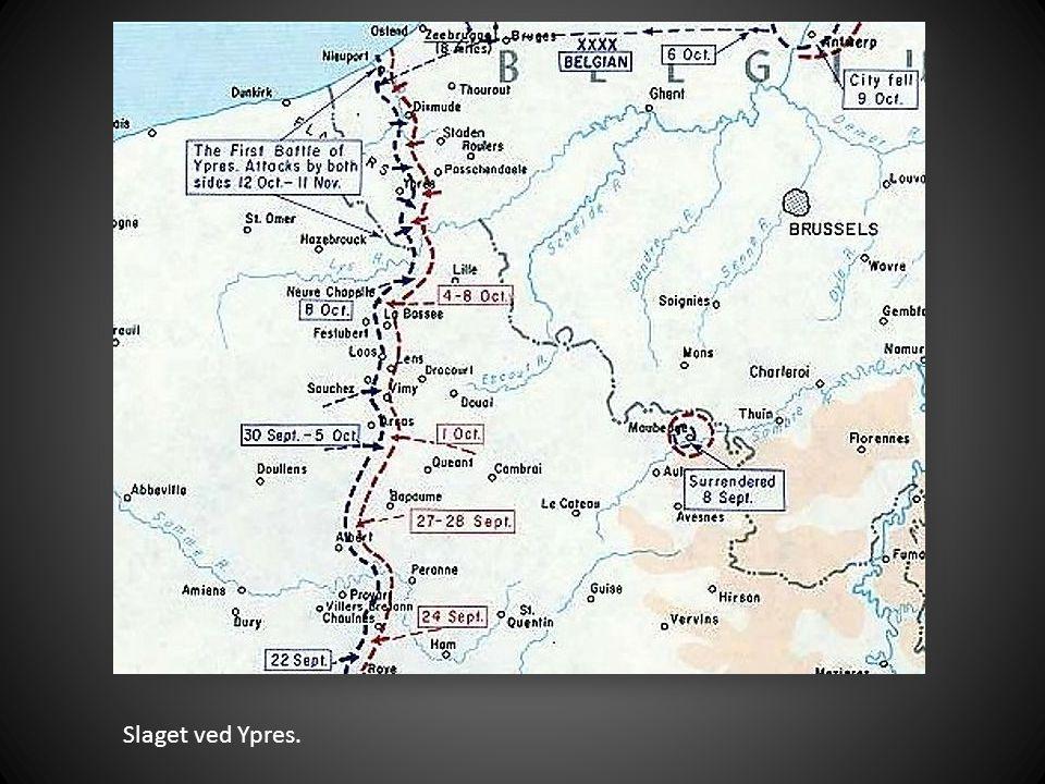 Slaget ved Ypres.