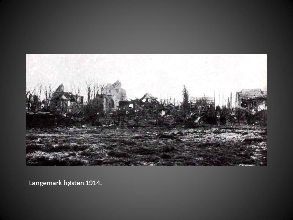 Langemark høsten 1914.