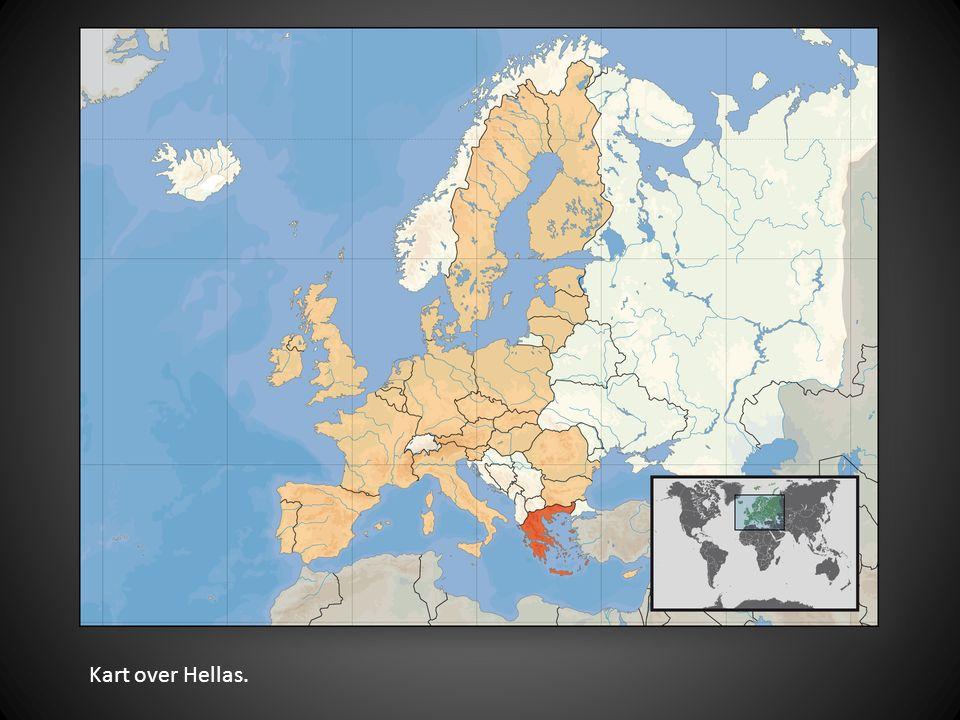 Kart over Hellas.