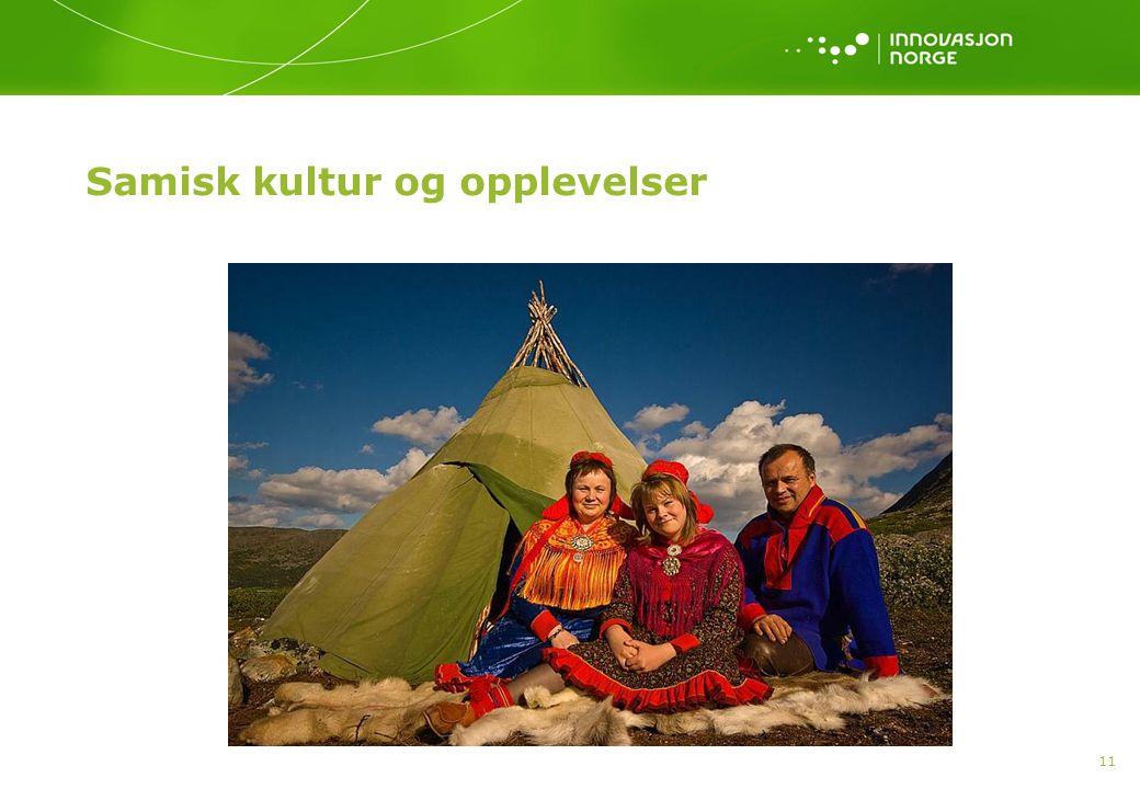 11 Samisk kultur og opplevelser