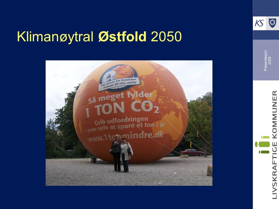 Presentasjon 2008 Klimanøytral Østfold 2050