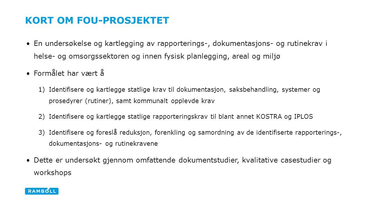ANALYTISK TILNÆRMING- KRITERIER FOR FORENKLING