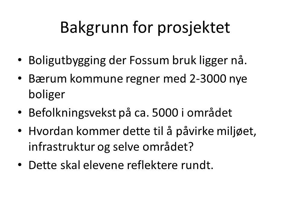 Boligutbygging der Fossum bruk ligger nå.