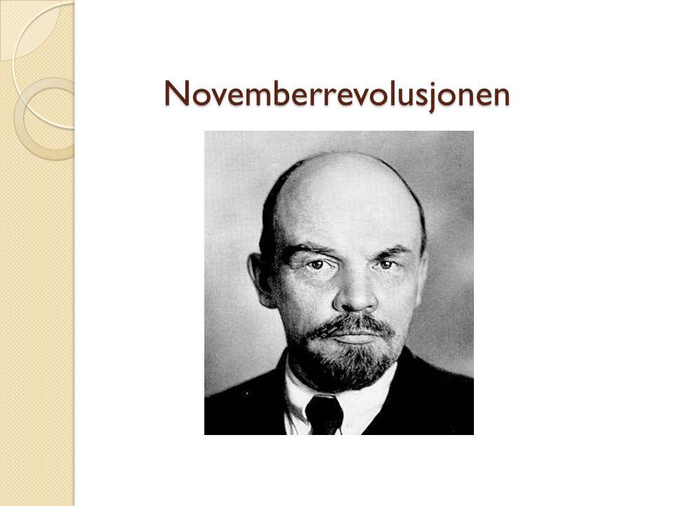 Novemberrevolusjonen