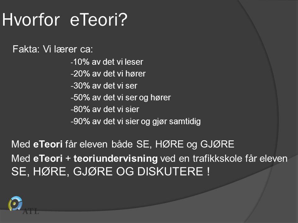 Hvorfor eTeori.