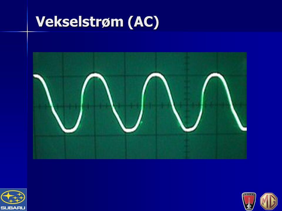 Vekselstrøm (AC)