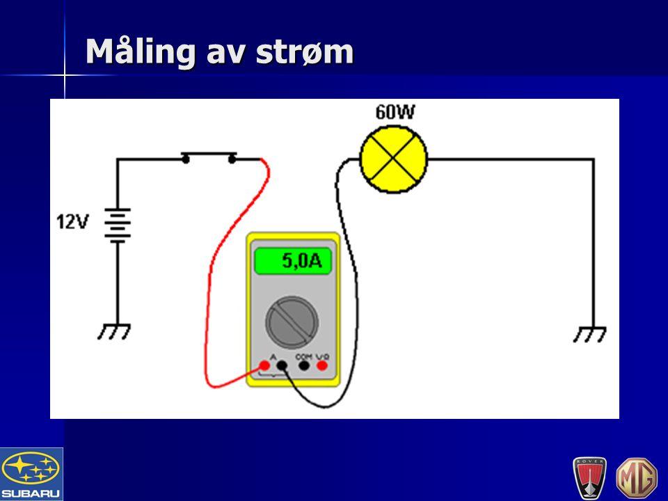 Måling av strøm