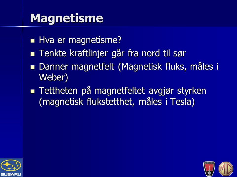 Magnetisme Hva er magnetisme. Hva er magnetisme.