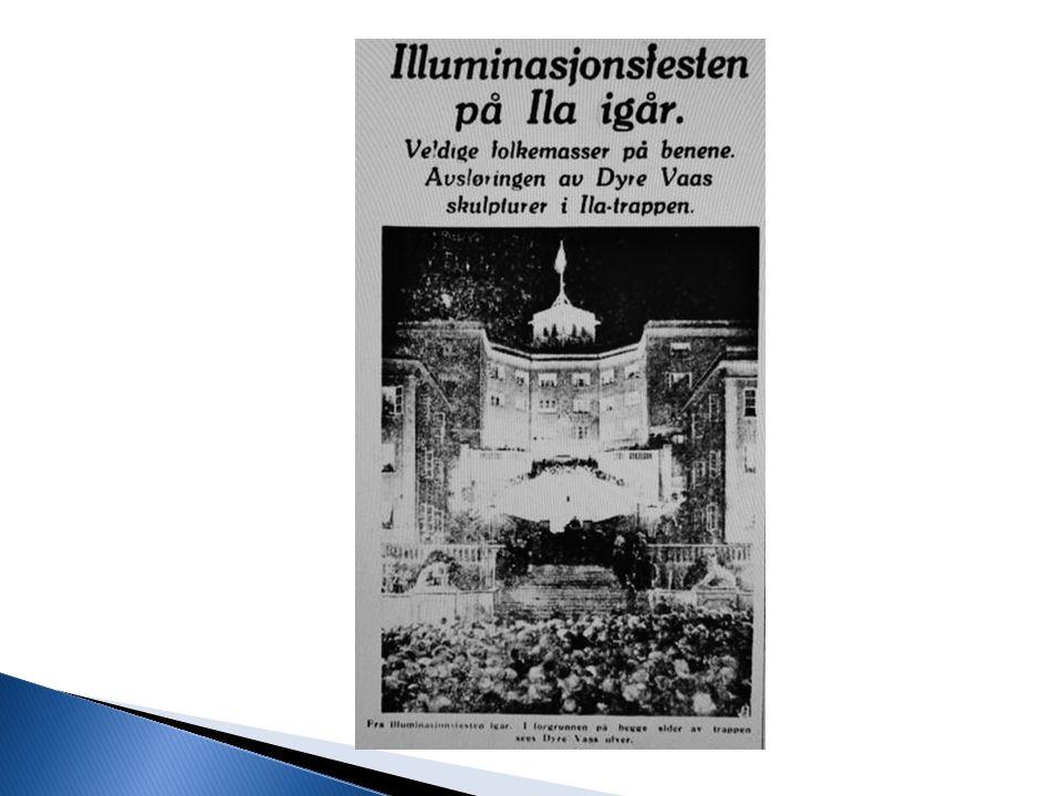  OBOS stifta 1939  Storstilt utbygging i drabantbyene