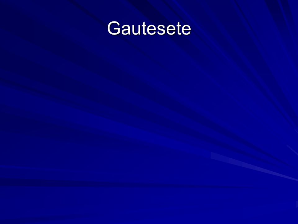Gautesete