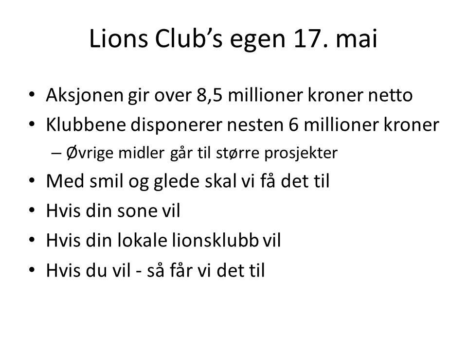 Lions Club's egen 17.