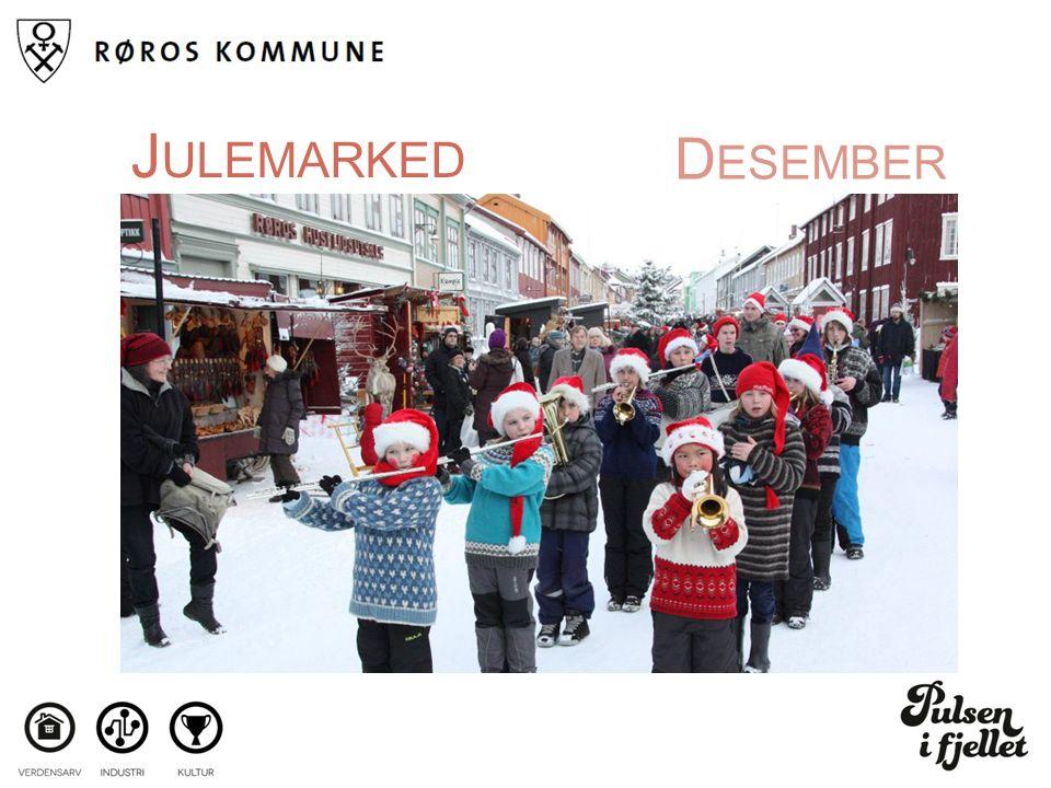 D ESEMBER J ULEMARKED