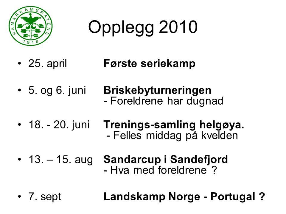 Seriespill - 2010 Vi har meldt oss på i 2.divisjon Terminlisten for våren er lagt ut.
