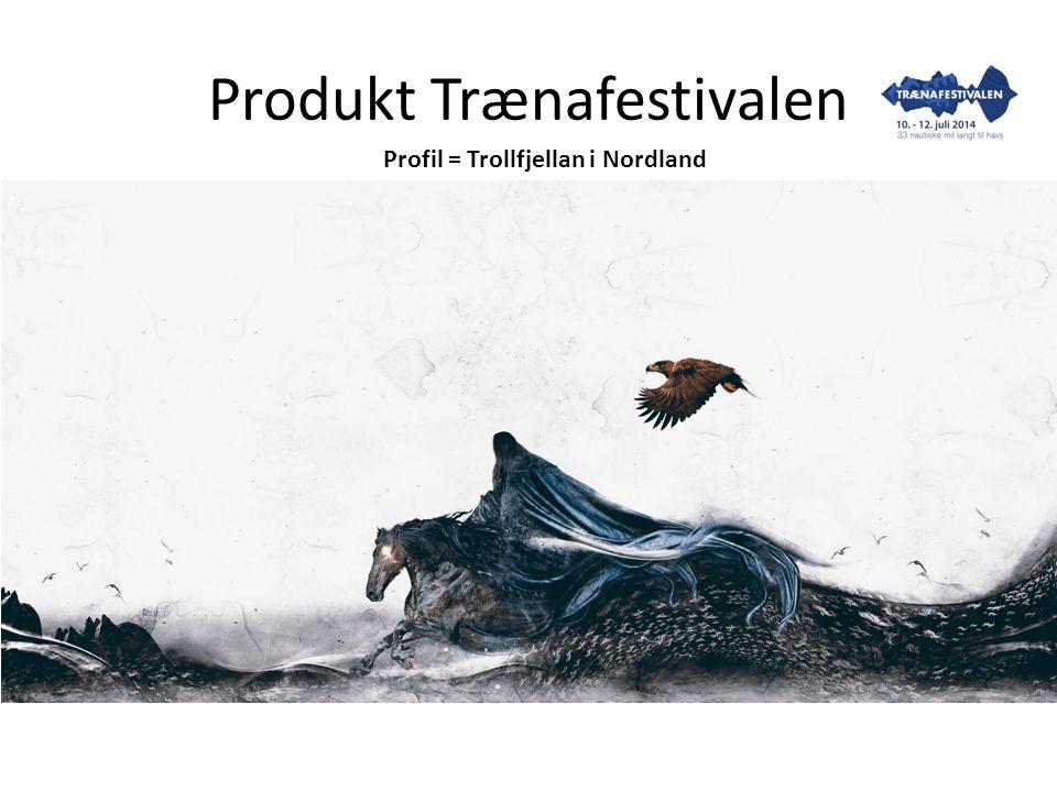 Produkt Trænafestivalen Profil = Trollfjellan i Nordland