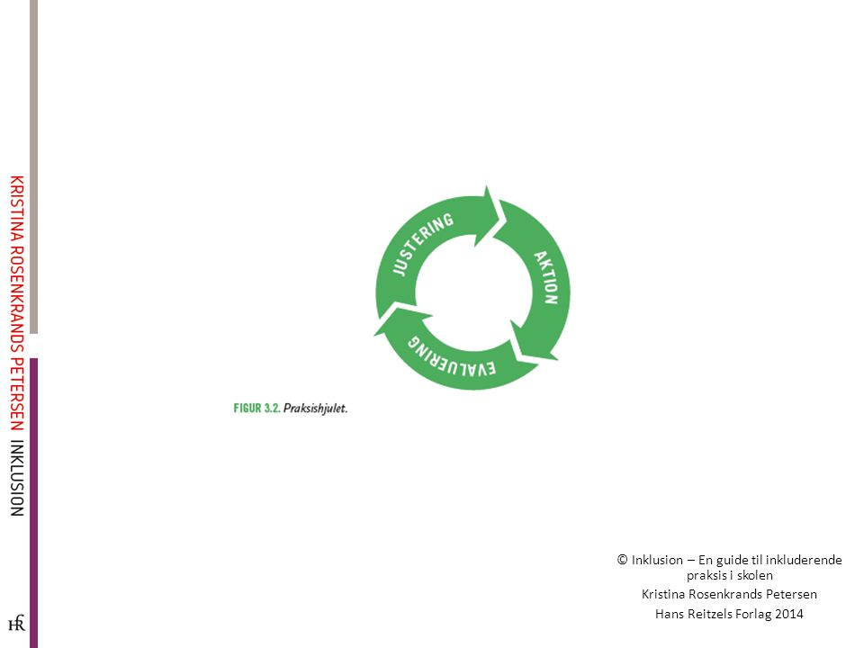 © Inklusion – En guide til inkluderende praksis i skolen Kristina Rosenkrands Petersen Hans Reitzels Forlag 2014