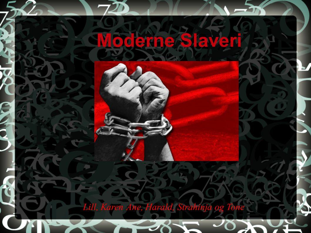 Moderne Slaveri Lill, Karen Ane, Harald, Strahinja og Tone