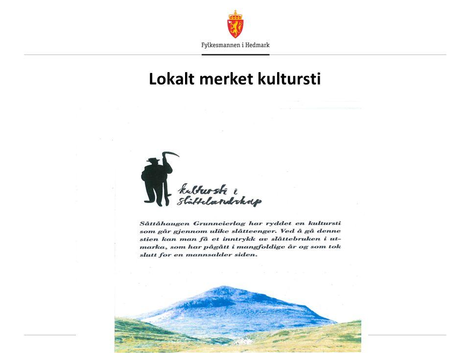 Lokalt merket kultursti
