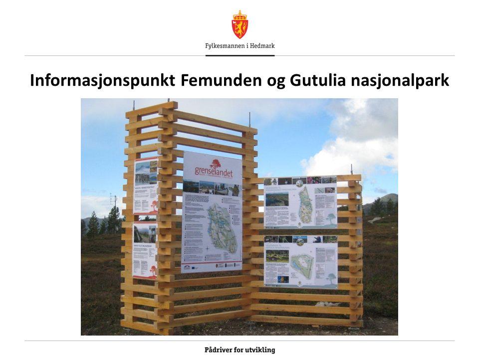 Informasjonspunkt Femunden og Gutulia nasjonalpark