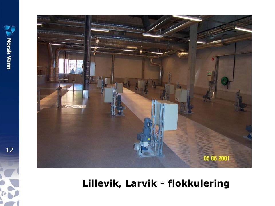 12 Lillevik, Larvik - flokkulering