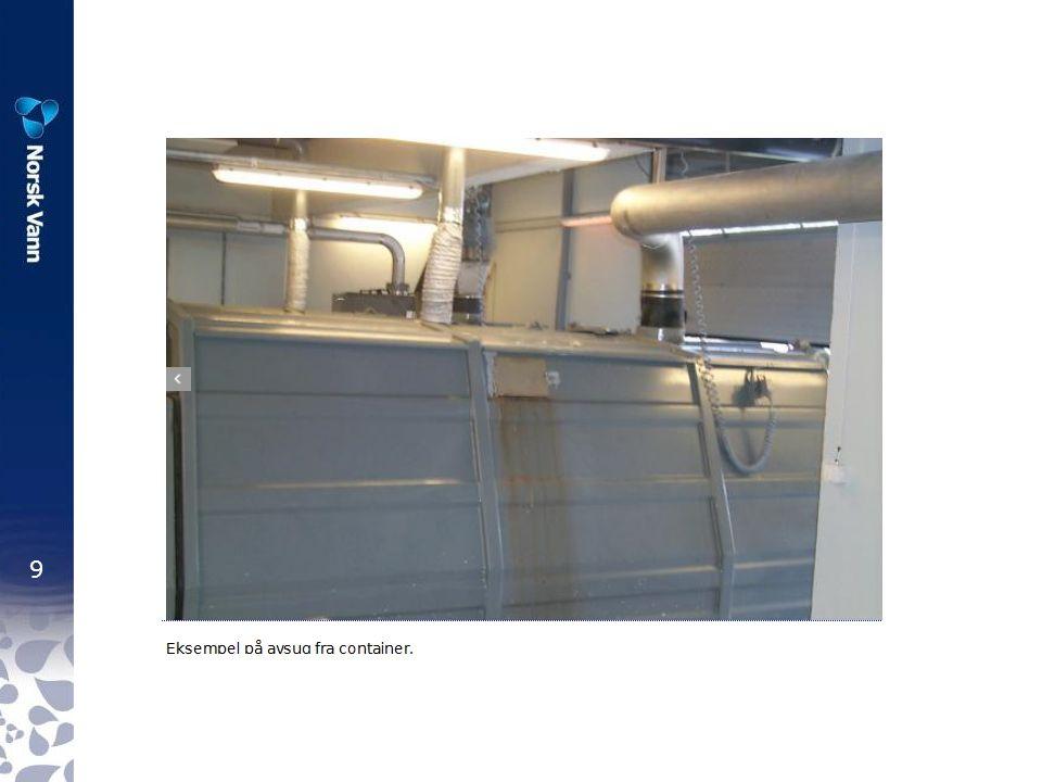 30 Sikkerhets- og verneutstyr ved nedstigning i pumpestasjon