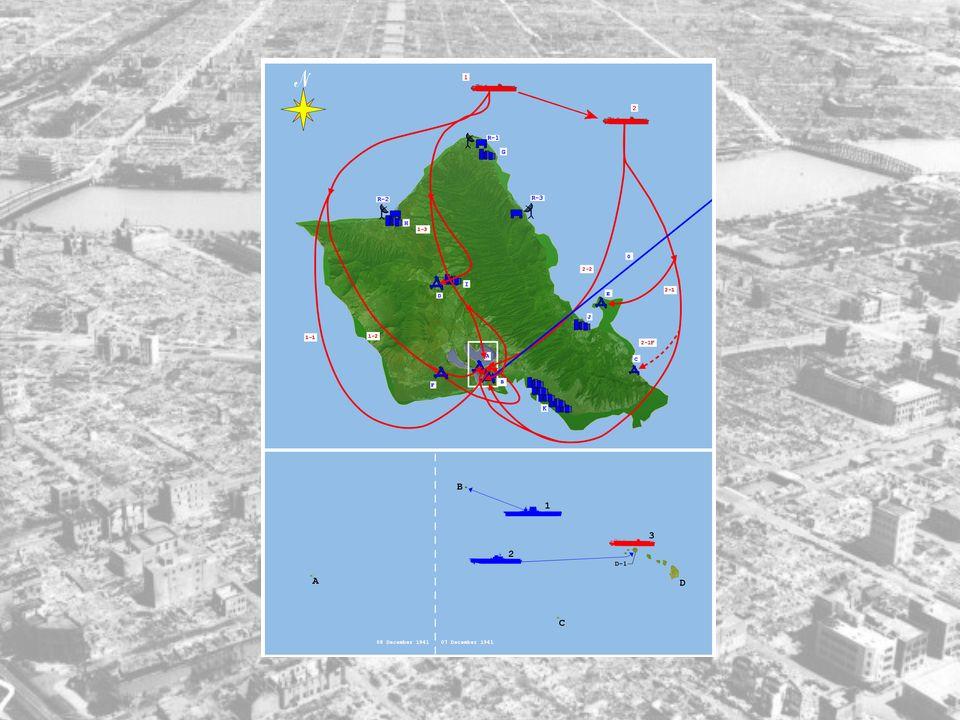 Japan hadde allerede før angrepet sendt et skip til Honolulu, det het Taiyo Maru, som holdt utkikk på Pearl Harbor. Det la til havn 1.november 1941, o
