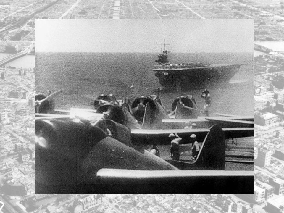 Angrepsstyrken kom fra flere steder i Japan, og alle samlet de seg på et punkt i nærheten av Tokyo før de samlet dro videre.