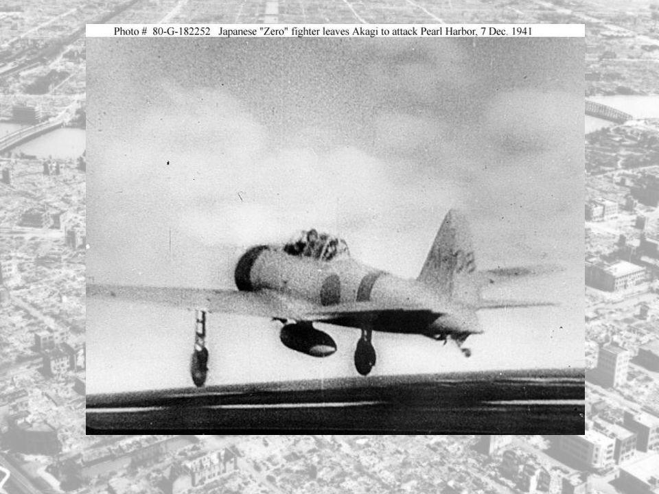 Den siste finpussen ble klargjort, og snart var hele den første angrepsstyrken klar. Denne angrepsstyrken besto av: - 43 jagerfly - 49 ordinære fly -