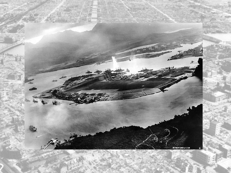 Lederen av den første angrepsstyrken var admiralen Fuchida, han var en 39 år gammel veteran og den fødte flyger. Det var usikkert fra Japan sin side o