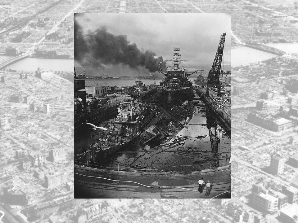 Selv om angrepet på Pearl Harbor var vellykket, så ødelagte det kun to US Navy skip. Fire av de sunkne skipene ble hevet og reparert. I det hele og de