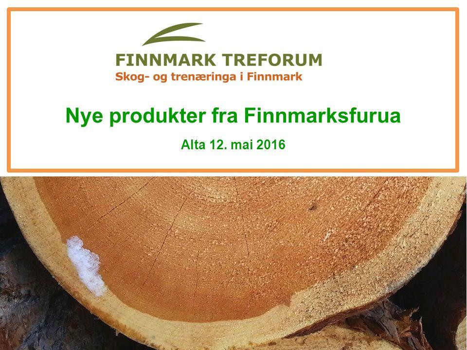 Nye produkter fra Finnmarksfurua Alta 12. mai 2016