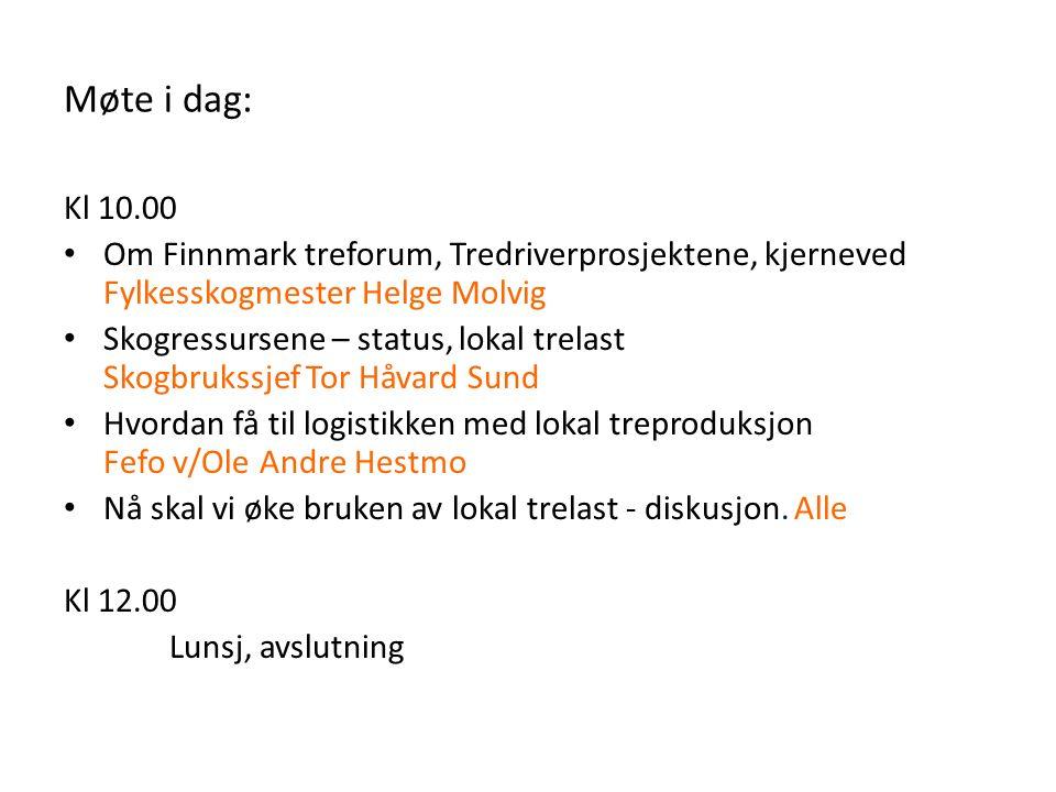 Vi er en medlemsbasert næringsorganisasjon og møteplass for alle innen skogbruk og trenæring i Finnmark.