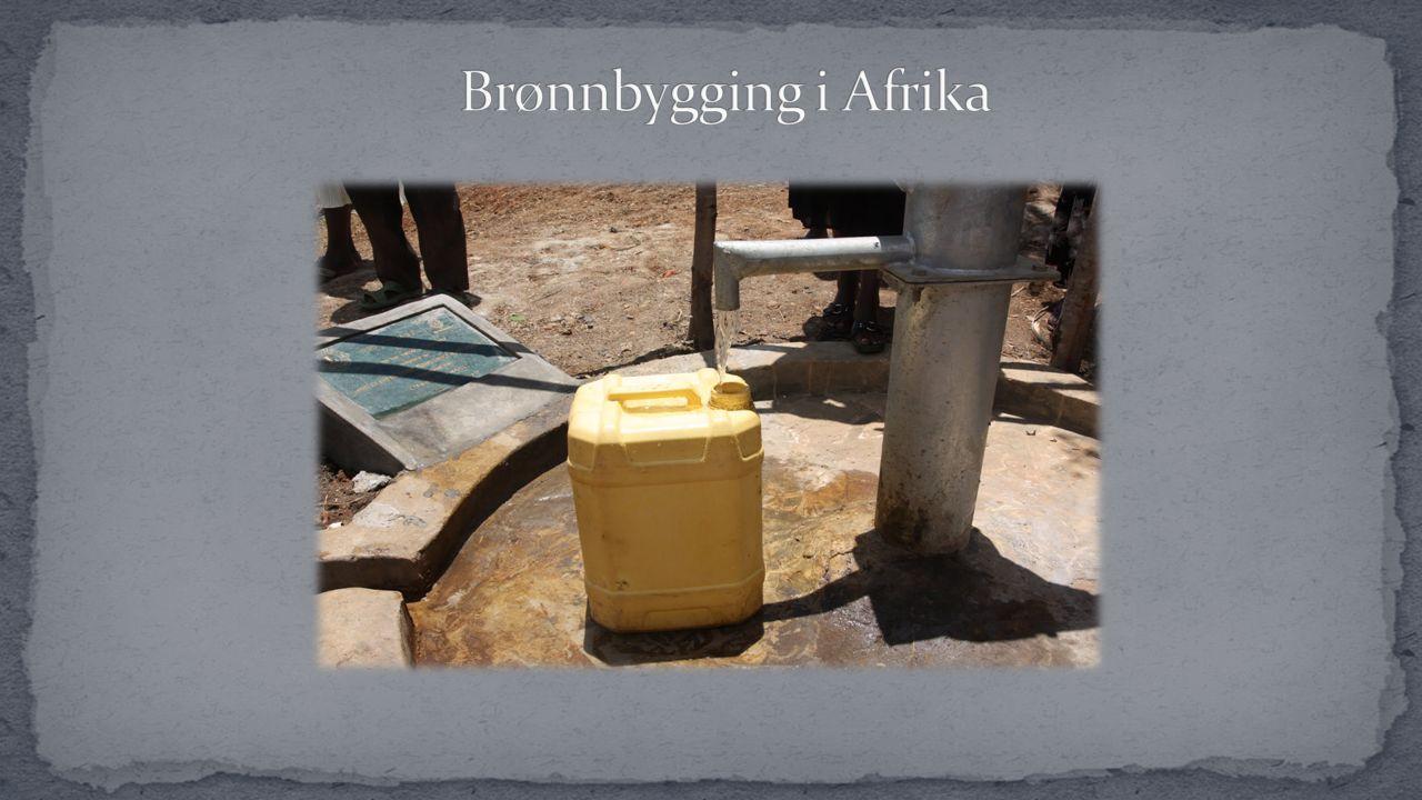 Ble startet etter en inspirasjonsreise til Uganda i 2007 IRC i 104 C, Ole Romslo Traasdahl så hvilket enormt behov det var for rent drikkevann, og dro hjem med det mål å gjøre noe med dette store problemet.