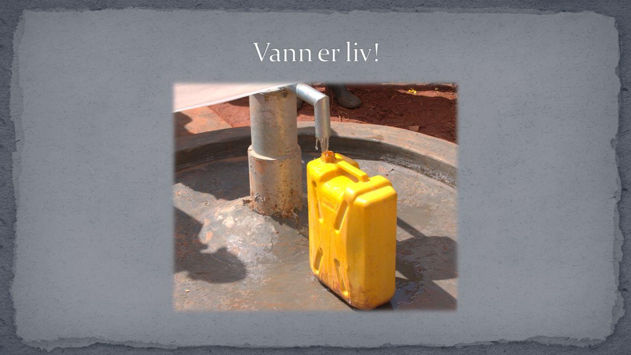 Når brønnen er blitt boret, tas det alltid vannprøver av vannet for å sjekke vannkvaliteten.