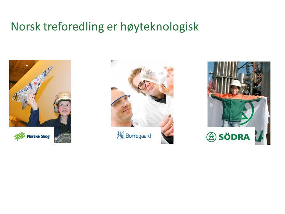 Norsk treforedling er høyteknologisk