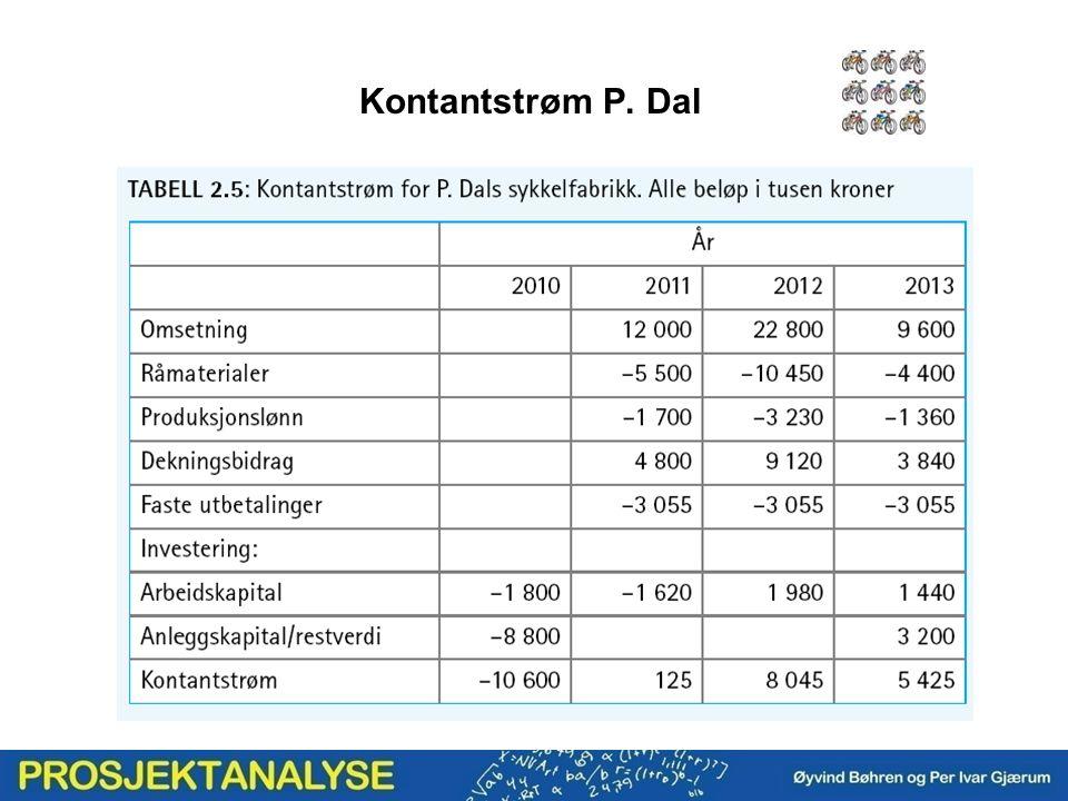 Kontantstrøm P. Dal