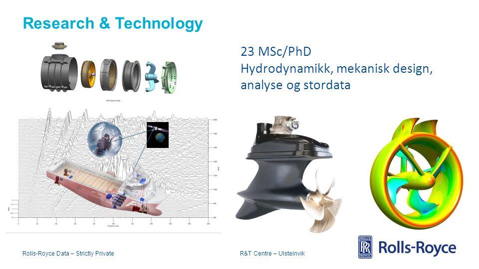 Rolls-Royce Data – Strictly Private R&T Centre – Ulsteinvik Bakteppet for LæringsArena Ulstein 3 Arena Ulstein under bygging Oljekrise Næringsliv i omstilling Kompetansekrava i industrien endrar seg.