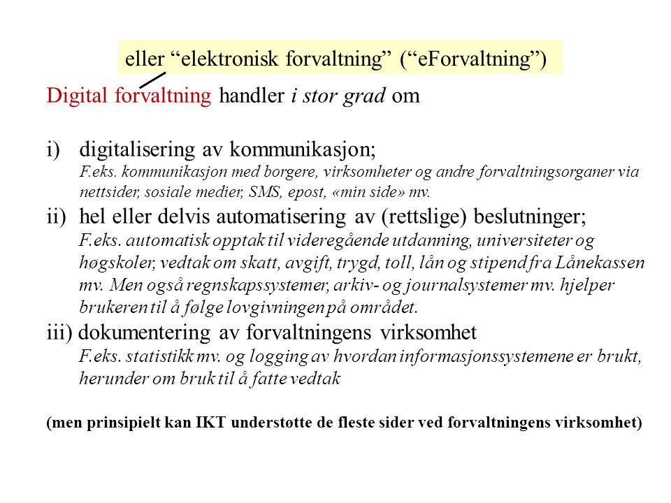  Rettslige informasjonssystemer o Rettslige tekstsystemer (inneholder autentiske rettskilder, jf.