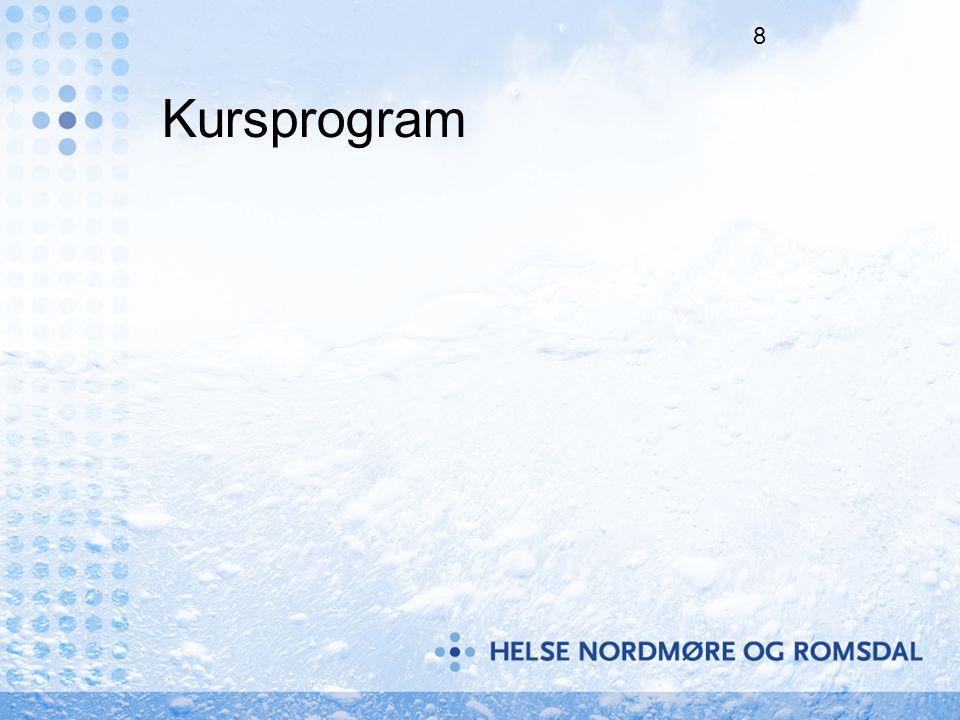8 Kursprogram