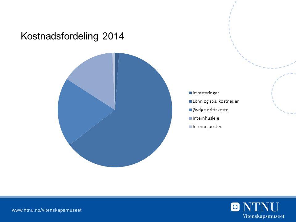 Kostnadsfordeling 2014