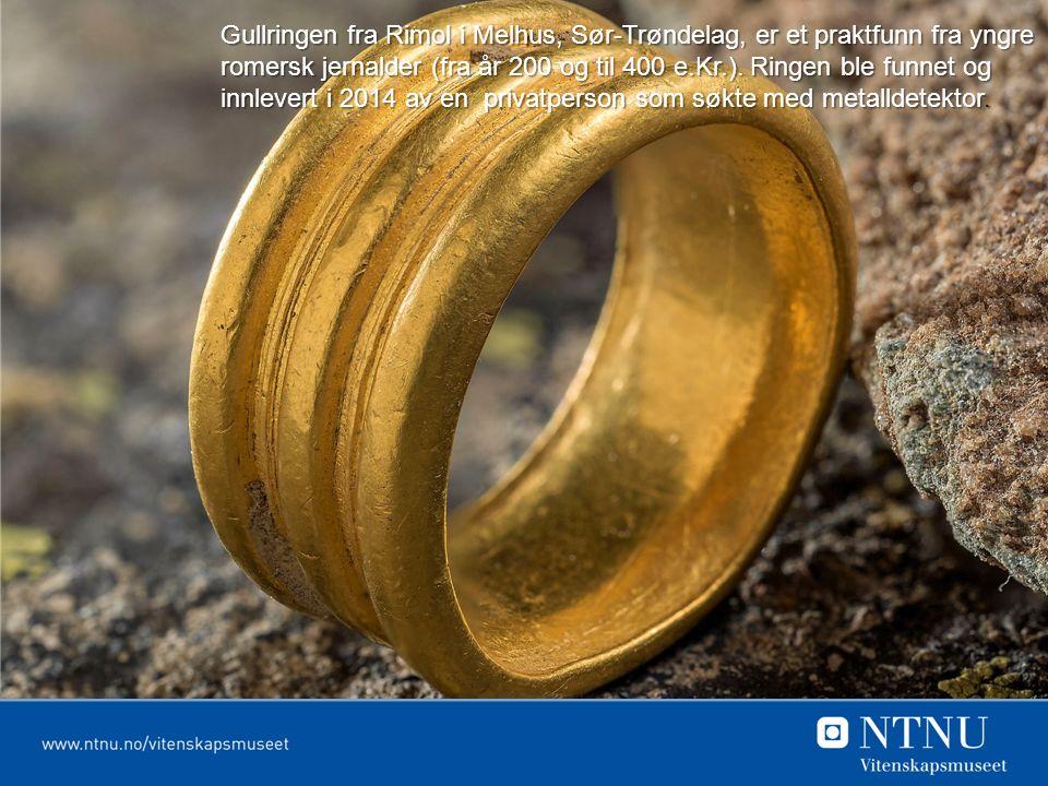 Gullringen fra Rimol i Melhus, Sør-Trøndelag, er et praktfunn fra yngre romersk jernalder (fra år 200 og til 400 e.Kr.).