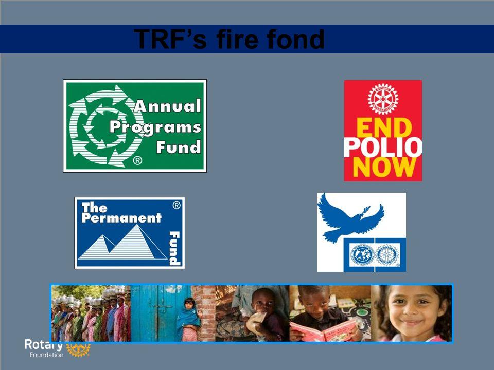 TRF's fire fond